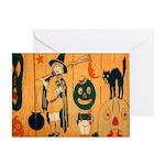Halloween Frolic Greeting Card