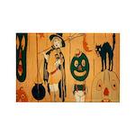 Halloween Frolic Rectangle Magnet