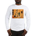Halloween Frolic Long Sleeve T-Shirt