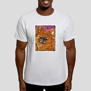 Long Haired Chihuahua Ash Grey T-Shirt