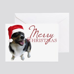 Corgi Santa Greeting Cards (Pk of 20)