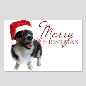 Corgi Santa Postcards (Package of 8)