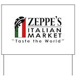 Zeppe's Italian Market Yard Sign