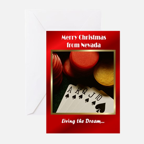 Nevada Christmas Greeting Cards (Pk of 20)