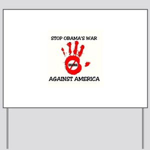 FIGHT AGAINST SOCIALISM Yard Sign