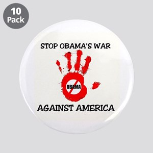 "FIGHT AGAINST SOCIALISM 3.5"" Button (10 pack)"