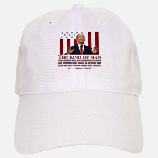 Obama & Idiotic Ideas Baseball Baseball Cap
