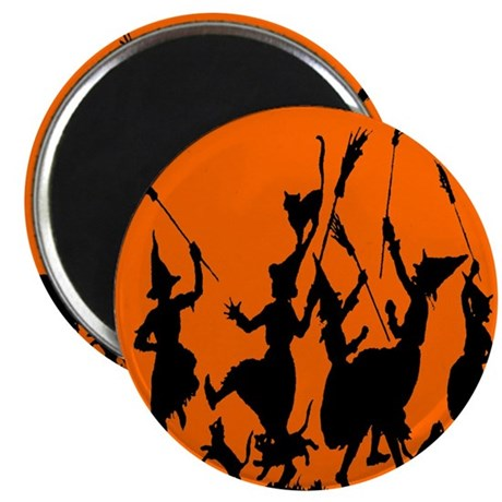 "Witches Dance 2 2.25"" Magnet (10 pack)"