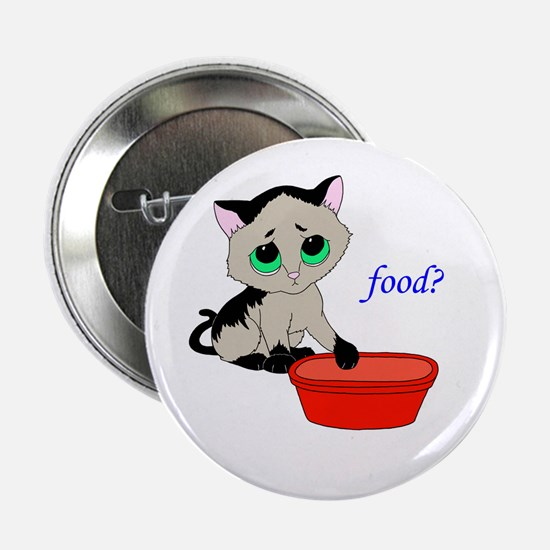"Food? (cat) 2.25"" Button"