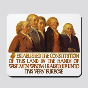 Wise Men Raised up by God Mousepad