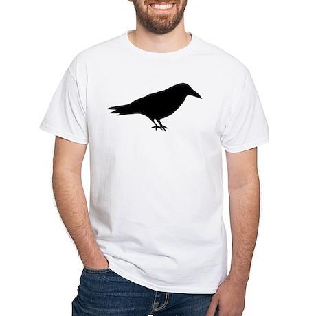 The Raven White T-Shirt
