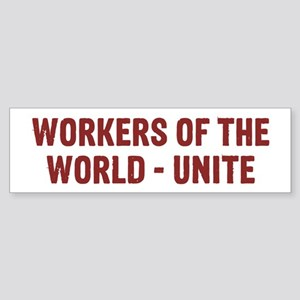 Workers Sticker (Bumper)