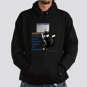 Password Protection Hoodie (dark)