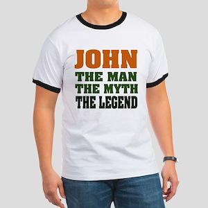 JOHN - The Legend Ringer T