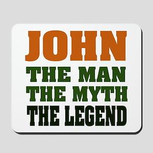 JOHN - The Legend Mousepad