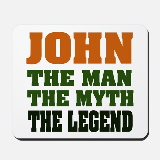 JOHN - The Legend Mousepad