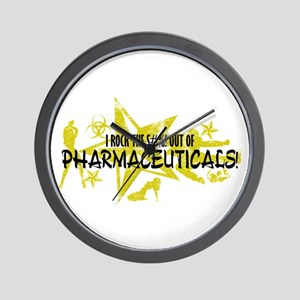 I ROCK THE S#%! - PHARMACEUTICALS Wall Clock