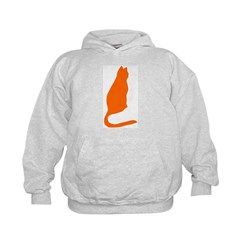 Orange Kitty Hoodie