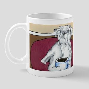Coffee Boxer (white) Mug