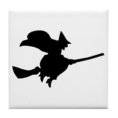 Flying Witch Tile Coaster
