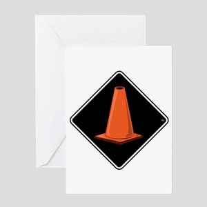CONE ZONE Cards & Bags Greeting Card