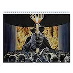 3-D Movie 2018 12-Month Wall Calendar