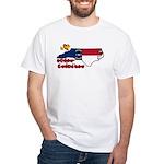ILY North Carolina White T-Shirt