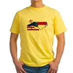ILY North Carolina Yellow T-Shirt