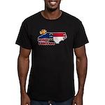 ILY North Carolina Men's Fitted T-Shirt (dark)