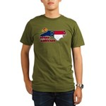 ILY North Carolina Organic Men's T-Shirt (dark)
