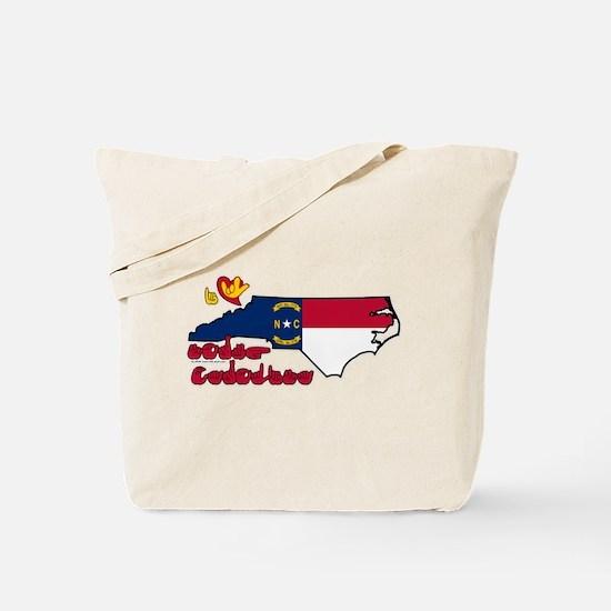 ILY North Carolina Tote Bag