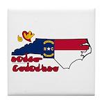 ILY North Carolina Tile Coaster