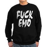 Fuck Emo Sweatshirt (dark)