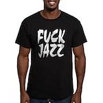 Fuck Jazz Men's Fitted T-Shirt (dark)