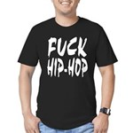 Fuck Hip-hop Men's Fitted T-Shirt (dark)