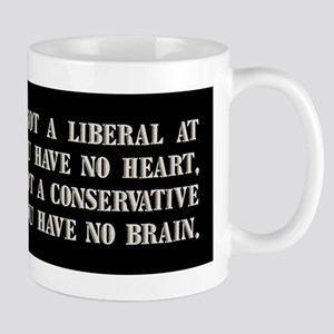 Churchill on Liberals Mug
