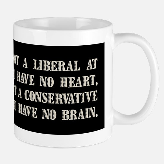Churchill on Liberals Mug