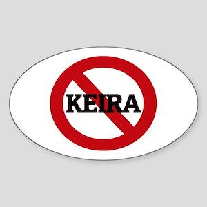 Anti-Keira Oval Sticker