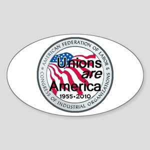 Labor Day Sticker (Oval)