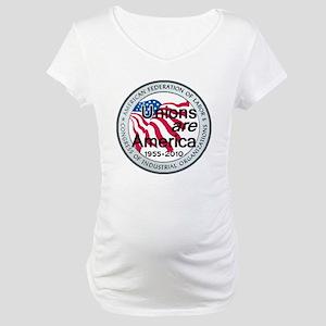 Labor Day Maternity T-Shirt