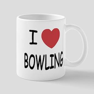 I heart bowling Mug