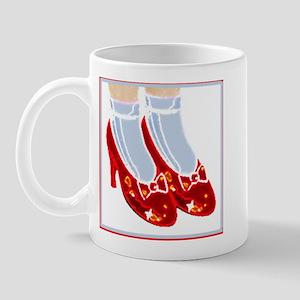 Red Ruby Slippers Mug