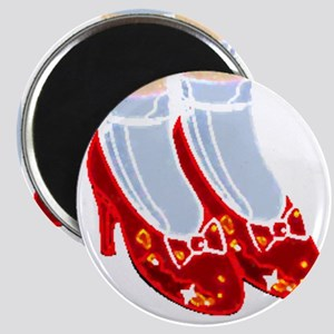 Red Ruby Slippers Magnet