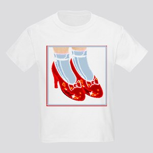 Red Ruby Slippers Children`s T Shirt