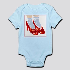 Red Ruby Slippers Baby Creeper suit