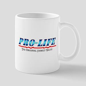 Pro-Life - Family Value Mug