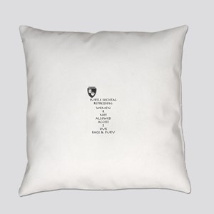 Women R Not Allowed Everyday Pillow