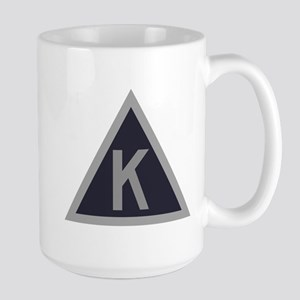 Triangle K Large Mug