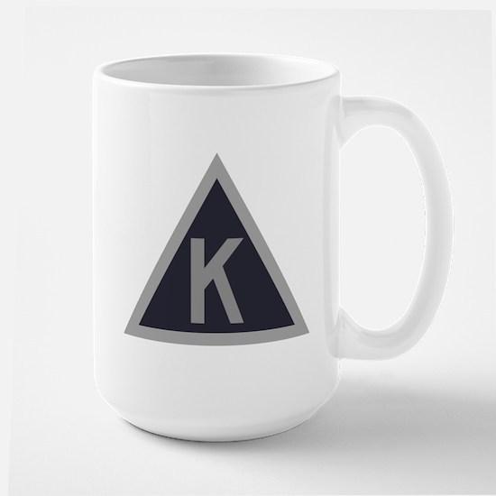 Triangle K Large Mug