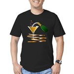 Champagne Party Celebration Men's Fitted T-Shirt (